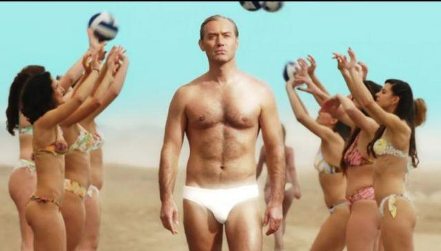 Jude Law's Young Pope to sport itsy bitsy papal trunks