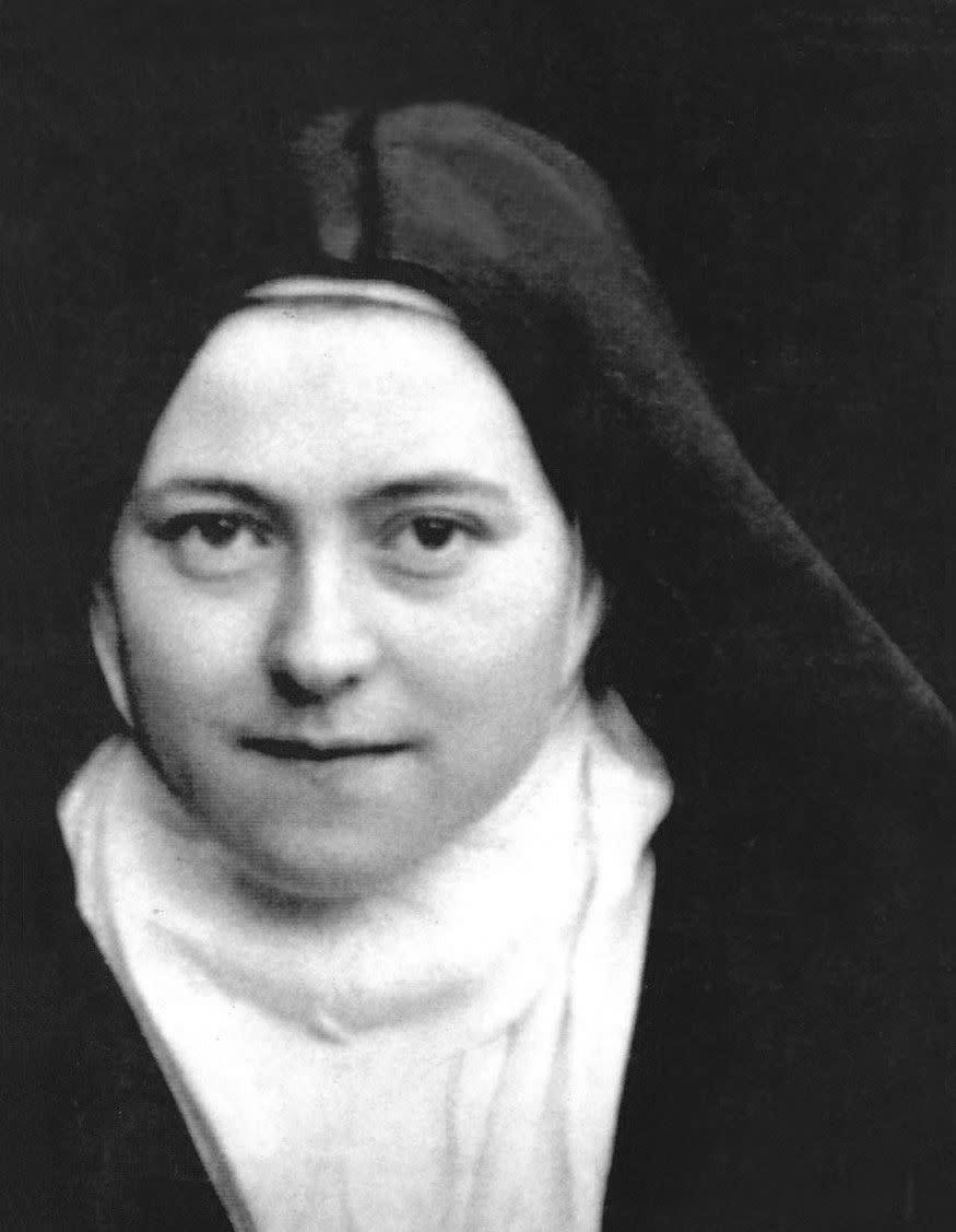Born in France in 1873, <span>Th&amp;eacute;r&amp;egrave;se of Lisieux</span>&amp;nbsp;experienced a mystical union with Christ while undergoing study for her First Communion in 1884. She entered the Carmel of Lisieux, a Carmelite hermitage, in 1888 and made a profession of religious devotion in 1890. She became ill and died at the young age of 24, but her writings and revelations formed the basis for widespread veneration after her death. Affectionately called <span>The Little Flower</span>, Th&amp;eacute;r&amp;egrave;se believed that children have an aptitude for spiritual experience, which adults should model. &quot;What matters in life,&quot; she wrote, &quot;is not great deeds, but great love.&quot; She was canonized by Pope Pius XI in 1925.