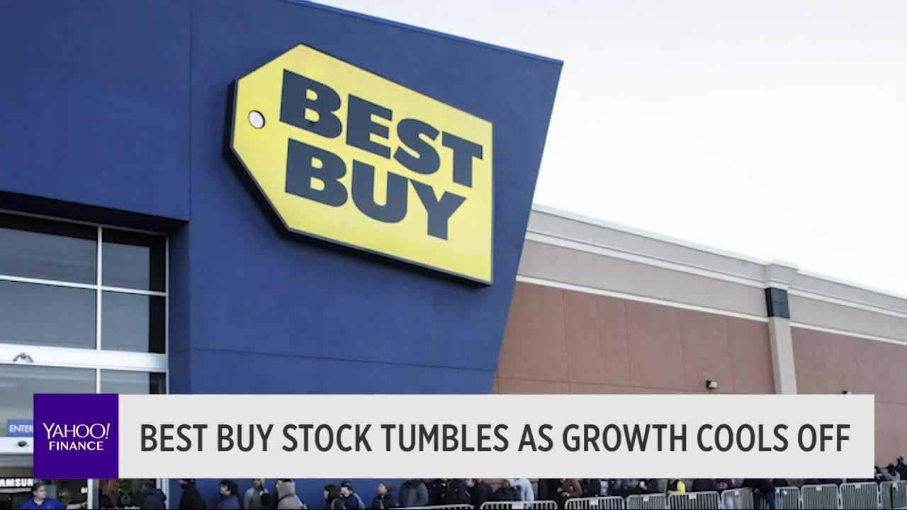 Best Buy Stock Tumbles As Growth Cools Off Video