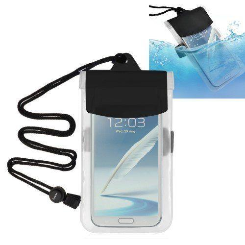 """The wild adventurer can never have too many waterproof accessories. <strong><a href=""""https://www.amazon.com/Waterproof-Armband-Lanyard-Compatible-Samsung/dp/B009CNOWP0"""" target=""""_blank"""" rel=""""noopener noreferrer"""">Get themhere</a></strong>."""