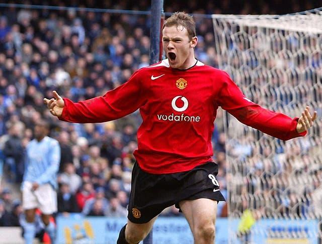 Wayne Rooney scored some memorable goals as a teenager at Manchester United.