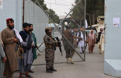 """<span class=""""caption"""">Harsh punishments: the Taliban have announced they will reinstate execution and amputations.</span> <span class=""""attribution""""><span class=""""source"""">EPA-EFE/stringer</span></span>"""