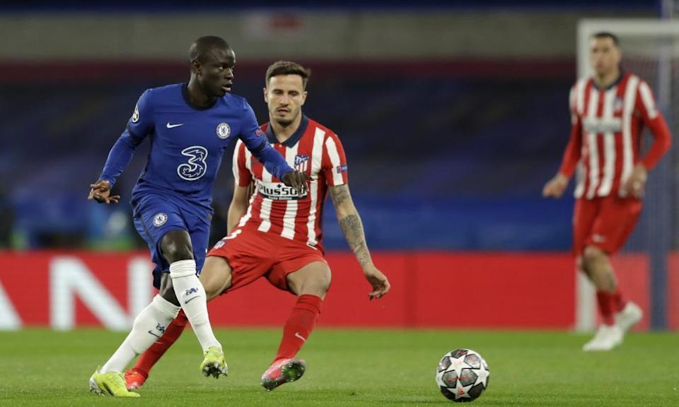N'Golo Kanté impressed in central midfield.