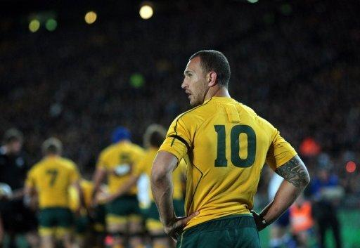 Outspoken Wallabies flyhalf Quade Cooper criticised Australia's boring playing style