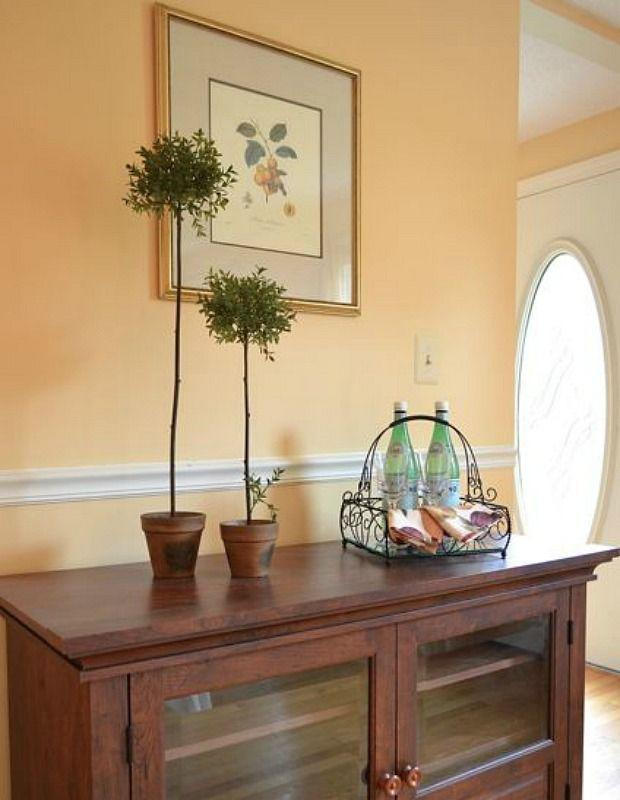 """<p>""""When I need a yellow that isn't too sunny, I choose this one,"""" says Jill Hosking-Cartland of <a href=""""http://www.hoskinginteriors.com/"""" rel=""""nofollow noopener"""" target=""""_blank"""" data-ylk=""""slk:Hosking Interiors"""" class=""""link rapid-noclick-resp"""">Hosking Interiors</a>. """"This <a href=""""http://www.sherwin-williams.com/homeowners/color/find-and-explore-colors/paint-colors-by-family/SW6387-compatible-cream/#/6387/?s=coordinatingColors&p=PS0"""" rel=""""nofollow noopener"""" target=""""_blank"""" data-ylk=""""slk:creamy shade"""" class=""""link rapid-noclick-resp"""">creamy shade</a> is warm, inviting and very flexible when it comes to coordinating with colors with adjoining rooms.""""</p><p><a class=""""link rapid-noclick-resp"""" href=""""http://www.sherwin-williams.com/homeowners/color/find-and-explore-colors/paint-colors-by-family/SW6387-compatible-cream/#/6387/?s=coordinatingColors&p=PS0"""" rel=""""nofollow noopener"""" target=""""_blank"""" data-ylk=""""slk:SHOP NOW"""">SHOP NOW</a></p>"""