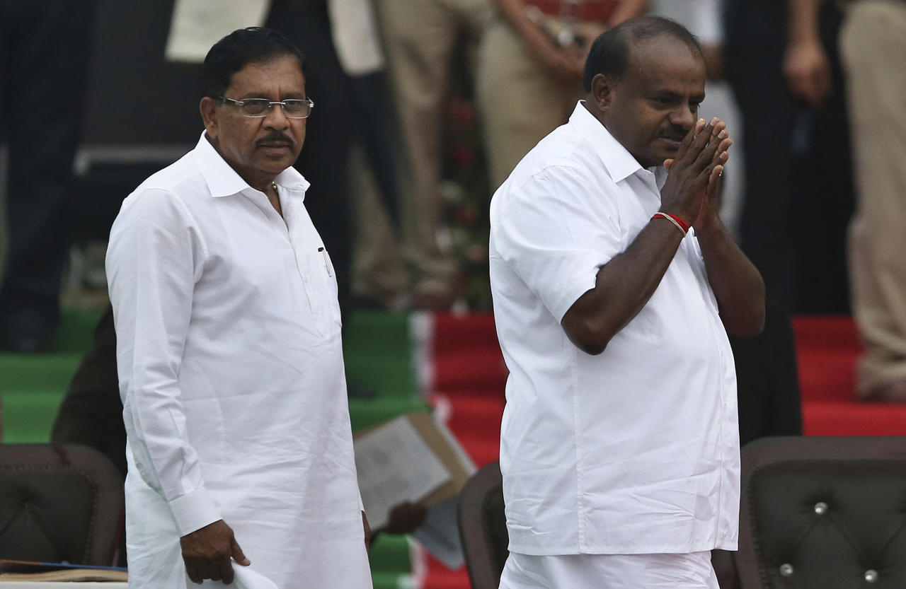 <p>The JD(S) leader stormed back to power in Karnataka, thanks to a cunning alliance with the Congress that kept the BJP, the single largest party, at bay. </p>