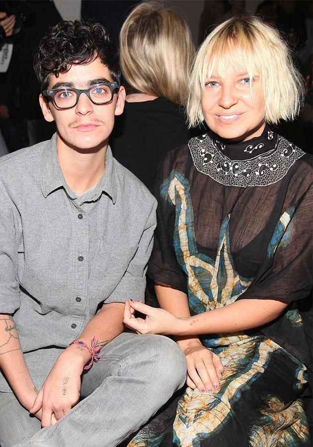 Sia is bisexual and previously dated lesbian DJ Jocelyn Sampson. Photo: Getty Images
