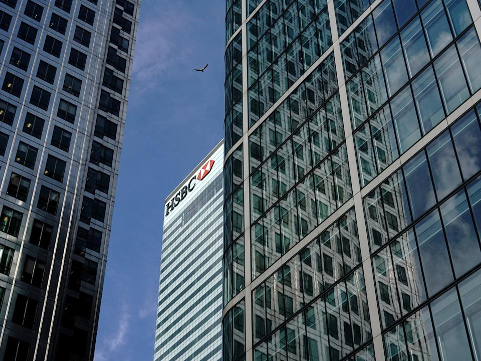 <p>The 42nd floor of the Canary Wharf HQ will be transformed into client meeting rooms and other communal spaces</p> (Reuters)