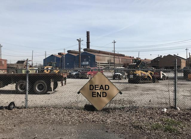 U.S. Steel recently announced it would partially re-open an idled part of its plant in Granite City, Ill. (Photo: Holly Bailey/Yahoo News)