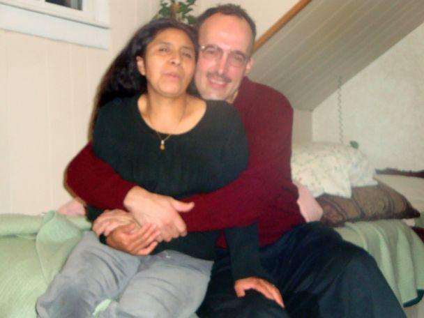 PHOTO: David Williams is pictured here with his wife of 19 years, Vitalina Williams. (Courtesy David Williams)