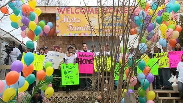 Sandy Victims Surprised by 'New' Home