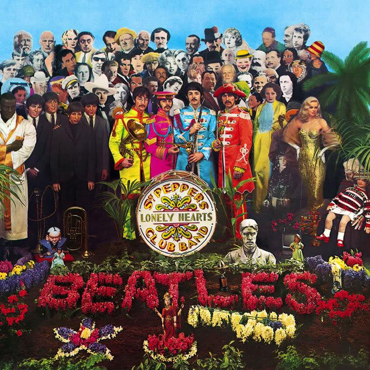 """The Beatles - Sgt. Pepper's Lonely Hearts Club Band (1967)<br><br>The lavish cover art introduced an album widely regarded as one of the most important of all time. Notable songs include """"Lucy in the Sky with Diamonds"""" and """"When I'm Sixty-Four."""""""