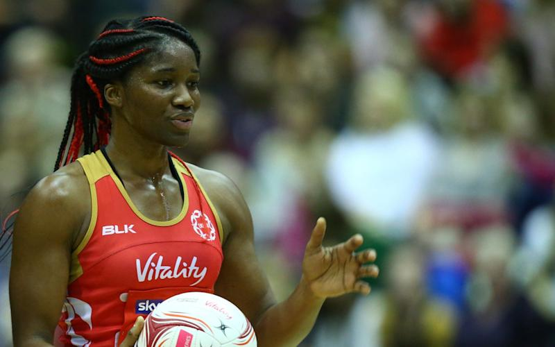 Ama Agbeze has been dropped by England head coach Tracey Neville - NurPhoto