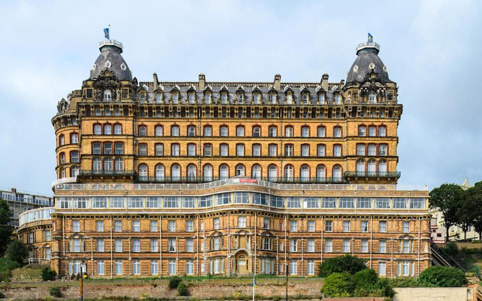 Scarborough's Grand Hotel was once the largest hotel in Europe - Simon Reinhardt