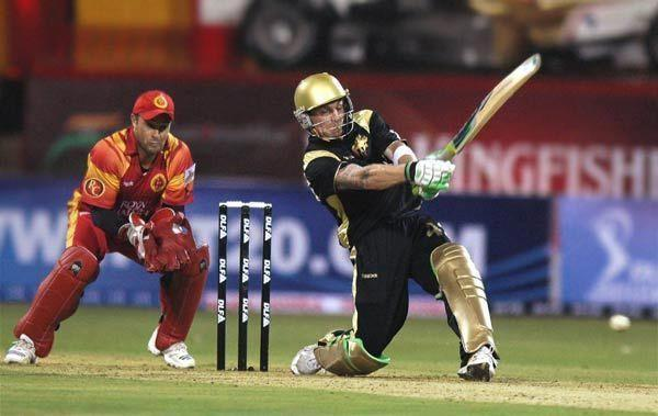 Brendon McCullum massacred the RCB attack in the inaugural match of the IPL