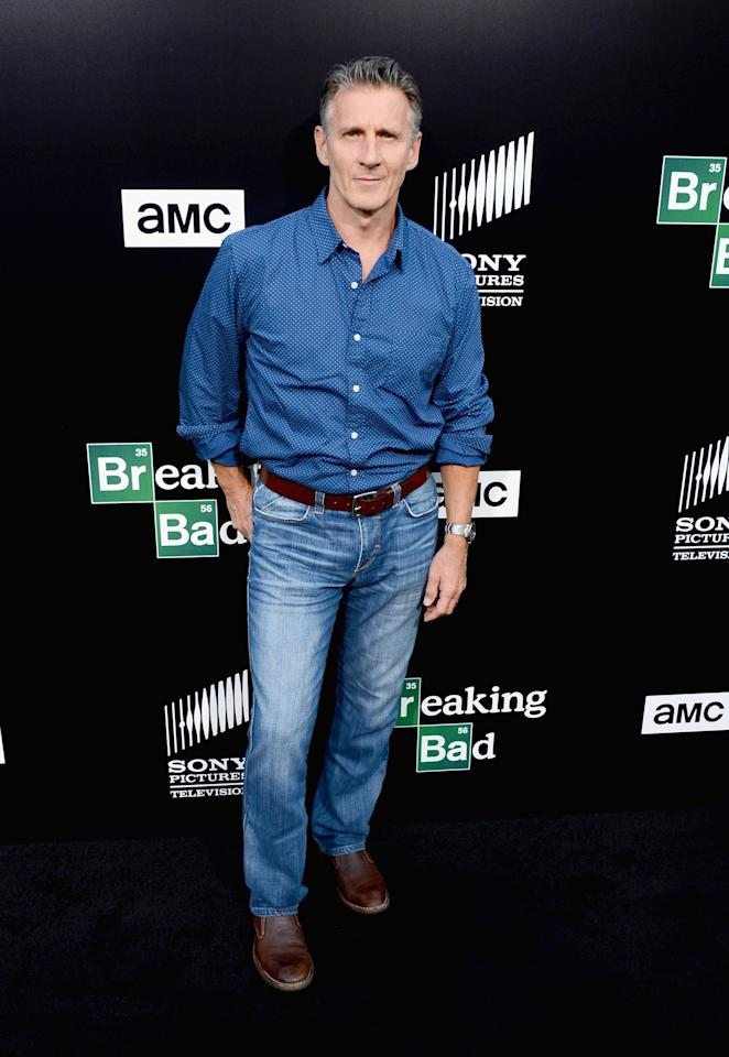 "CULVER CITY, CA - JULY 24: Actor Christopher Stanley arrives as AMC Celebrates the final episodes of ""Breaking Bad"" at Sony Pictures Studios on July 24, 2013 in Culver City, California. (Photo by Mark Davis/Getty Images)"