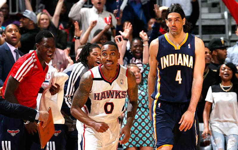 Teague, Korver lead Hawks past Pacers 98-85