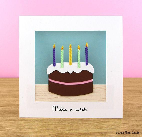 """<p>Let them enjoy cake without all those pesky calories with this super cute, handmade birthday card.</p><p><strong>Get the tutorial at </strong><strong><a href=""""https://www.creabeacards.com/chocolicious-birthday-cake-card/"""" rel=""""nofollow noopener"""" target=""""_blank"""" data-ylk=""""slk:Crea Bea Cards"""" class=""""link rapid-noclick-resp"""">Crea Bea Cards</a>.</strong></p>"""