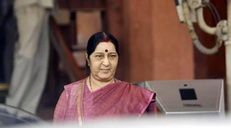 Sushma Swaraj, former minister of external affairs.