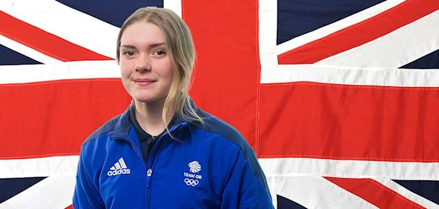 Ellie Soutter was a hopeful for the 2022 Olympic team in Beijing. (Photo via Team GB)