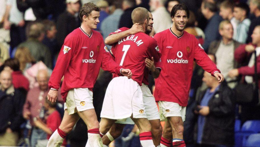 <p>Tottenham were 3-0 up at half-time in this classic FA Cup clash, thanks to goals from Dean Richards, Les Ferdinand, and Christian Ziege.</p> <br /><p>Whatever Sir Alex Ferguson said at half time worked wonders as goals from Andy Cole, Laurent Blanc, Ruud van Nistelrooy, Juan Sebastian Veron and David Beckham sealed a dramatic comeback for the Red Devils.</p>