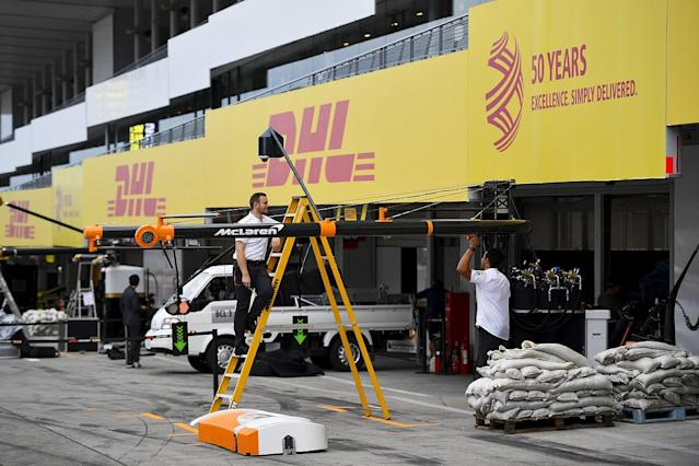 How F1 teams are preparing for the typhoon