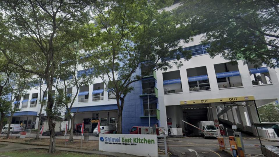 Shimei East Kitchen building at Bedok North Street 5, where HKP Food Technology is located. (PHOTO: Screenshot/Google Maps)