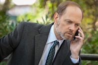 <p>Were we supposed to like David Hyde Pierce's Frank Prady, a political commentator-turned-State's Attorney candidate who insisted to opponent Alicia that he wanted to run a campaign? We wanted to trust him (he's played by David Hyde Pierce after all), but in the world of 'Good Wife' politics, you could never be sure. <i>(Credit: Jeff Neumann/CBS)</i><br><br></p>