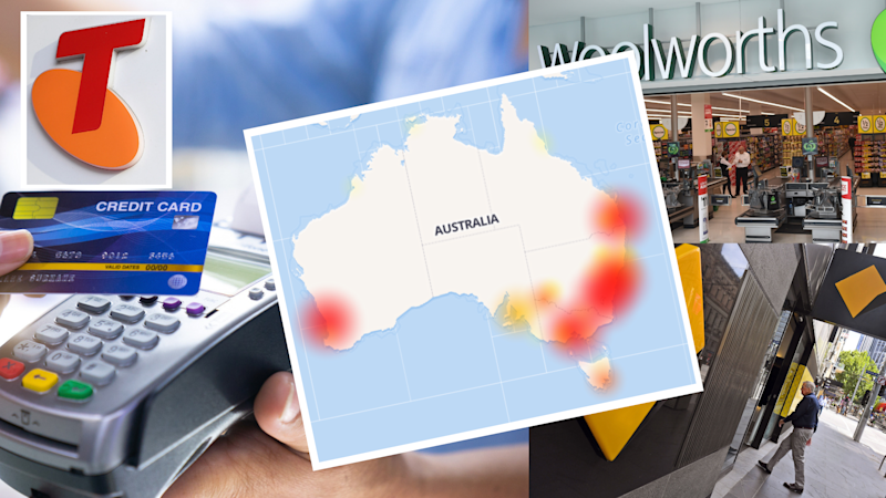 Banks, shops recovering from card collapse across Australia