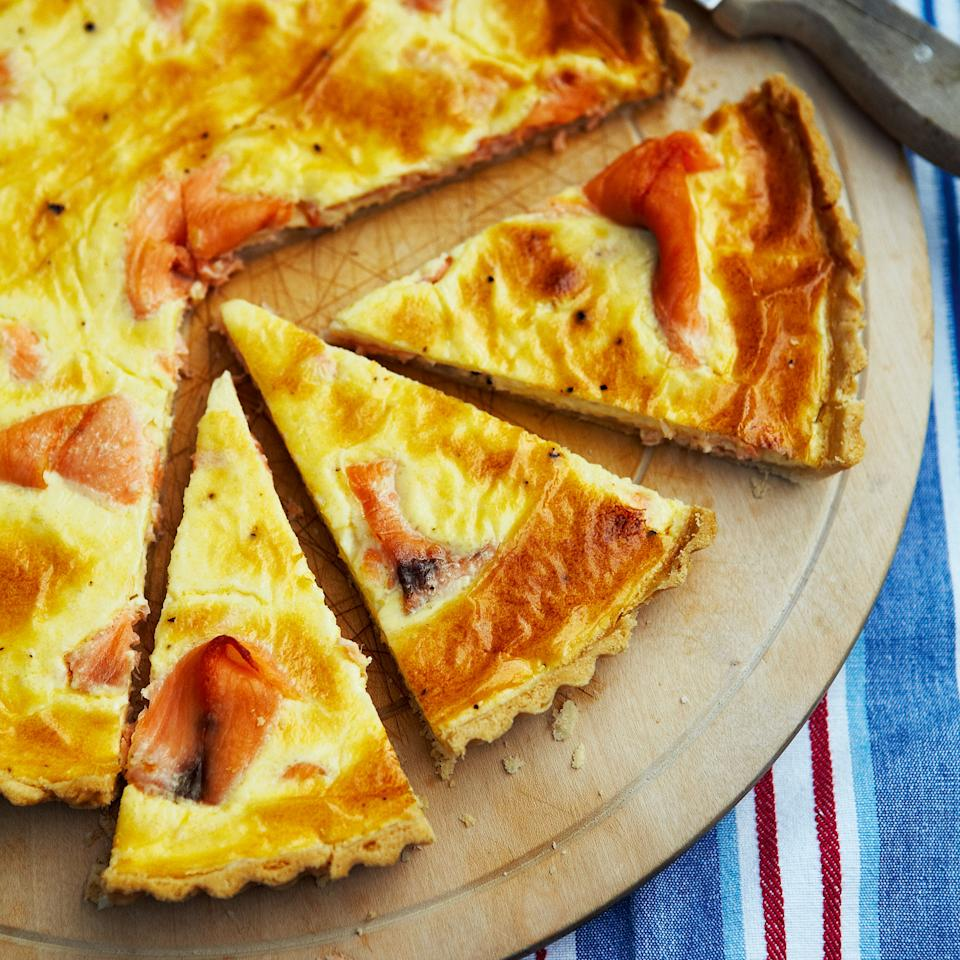 Smoked Salmon Tart