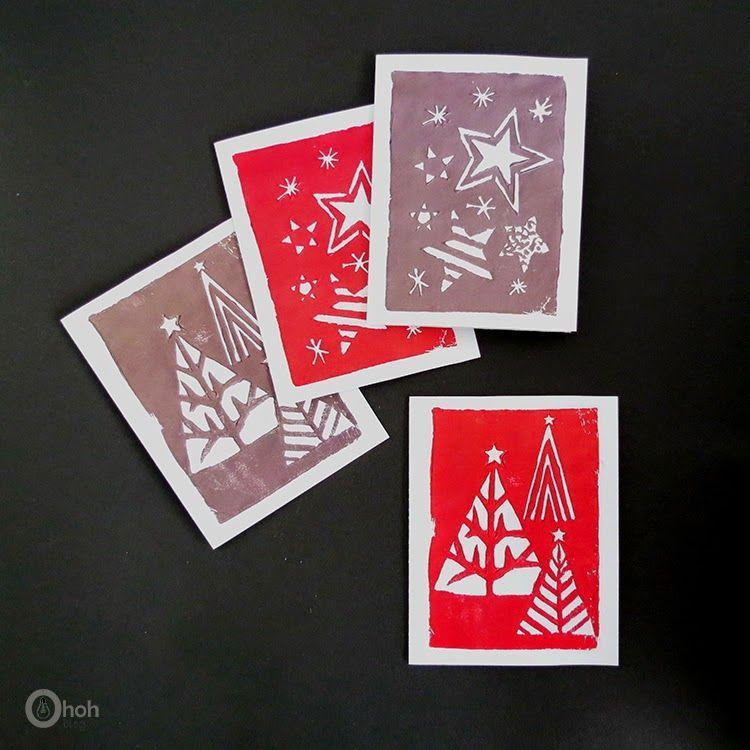 """<p>As if DIY-ing your Christmas cards wasn't impressive enough, this one features handmade stamps. That's right: Every single aspect is made by you!</p><p><strong>Get the tutorial at <a href=""""https://www.ohohdeco.com/stamped-greeting-cards/"""" rel=""""nofollow noopener"""" target=""""_blank"""" data-ylk=""""slk:Oh Oh Deco"""" class=""""link rapid-noclick-resp"""">Oh Oh Deco</a>.</strong></p><p><strong><a class=""""link rapid-noclick-resp"""" href=""""https://www.amazon.com/Lsushine-Craft-Stamps-Partner-Fabric/dp/B01CKXUCNE?tag=syn-yahoo-20&ascsubtag=%5Bartid%7C10050.g.3872%5Bsrc%7Cyahoo-us"""" rel=""""nofollow noopener"""" target=""""_blank"""" data-ylk=""""slk:SHOP INK PADS"""">SHOP INK PADS</a><br></strong></p>"""