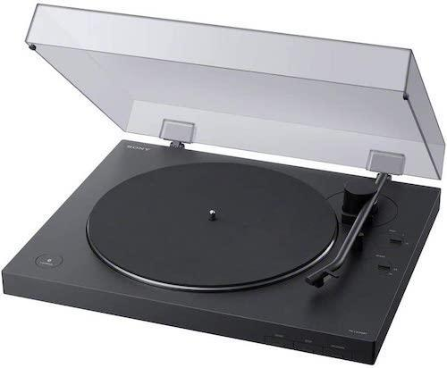 Sony PS-LX310BT Belt Drive Turntable, best record players