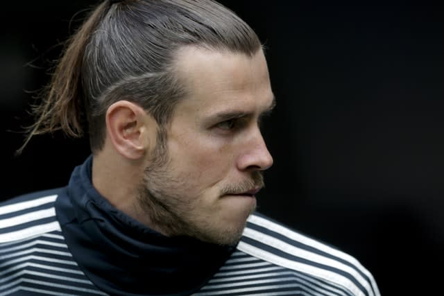 Bale remained on the bench throughout Real's last game of the season against Real Betis