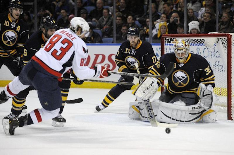 Miller makes 49 saves, Sabres top Capitals in SO