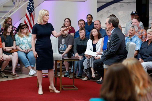 On Fox News town hall, Gillibrand attacks network over