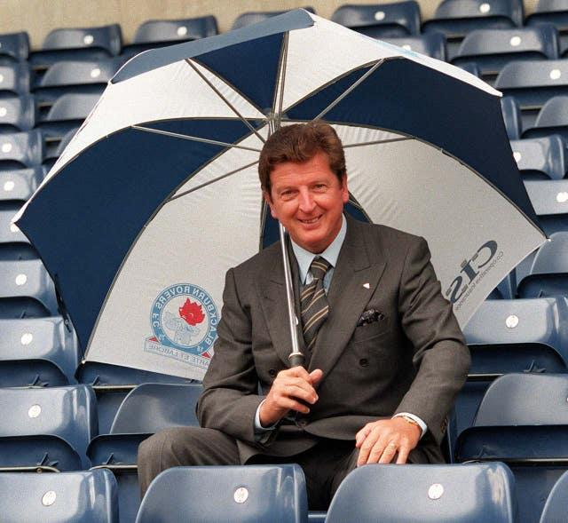 Roy Hodgson's first taste of life in the Premier League occurred at Blackburn