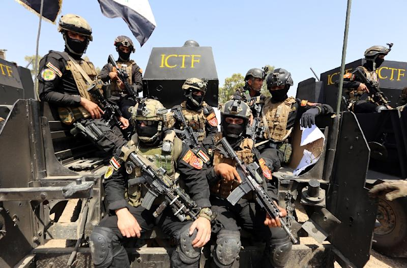 After retaking Fallujah in June, Iraqi security forces are focused on Mosul, the Islamic State group's de facto capital in the country (AFP Photo/Sabah Arar)