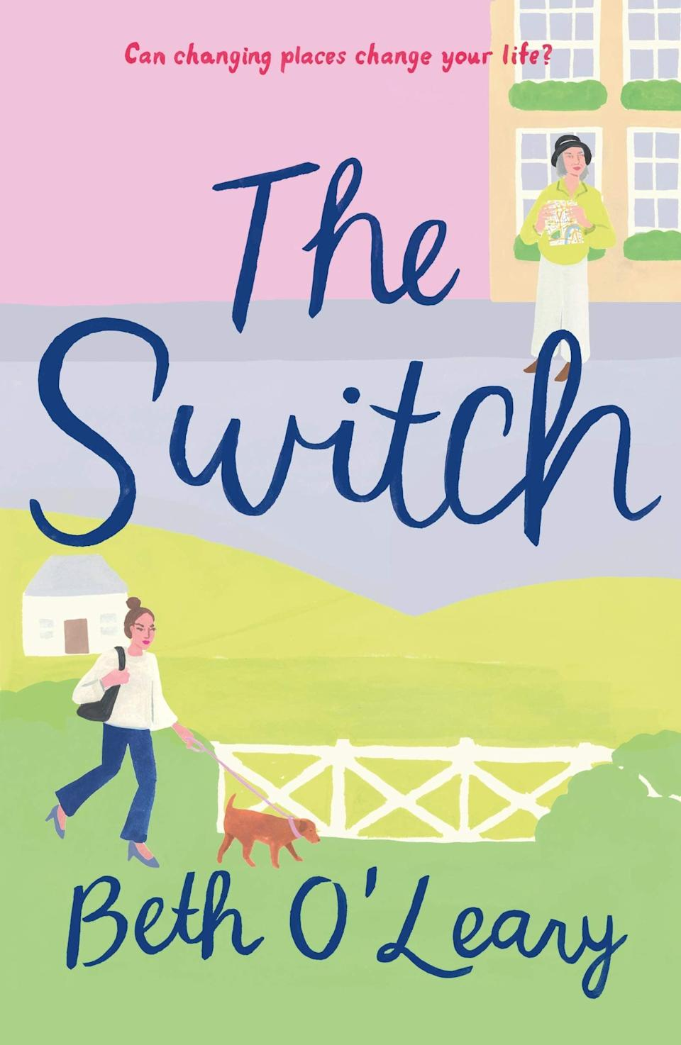 <p>Twenty-something Leena and her nearly-80-year-old grandmother Eileen decide to swap lives in <span><strong>The Switch</strong> by Beth O'Leary</span> ($13). Both reeling from a sudden death in the family and needing to regroup, Leena decides to escape to her grandmother's cottage in a quaint English village to try small town living, while Eileen hops down to London to stay in Leena's flat and experience the big city. In the process, they each find themselves - and love where they least expect it.</p> <p>This story reminds me of the film <strong>The Holiday</strong>, but instead of two internet strangers switching places, it's two women from the same family. In addition to navigating new environments, there's also the generational difference between Leena and Eileen that brings about some funny situations.</p>