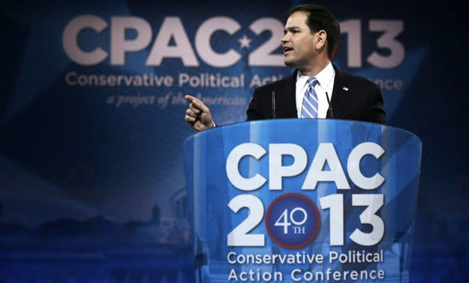 Marco Rubio is supposed to be the face of the new GOP. But is the new GOP really all that new?