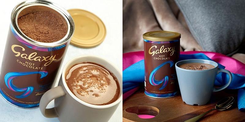 You Can Buy Galaxy Truffles Hot Chocolate, And It's Just As Silky And Delicious As You'd Imagine