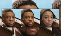 <p>T'Challa looks just as hot as a girl as he does an old man. </p>