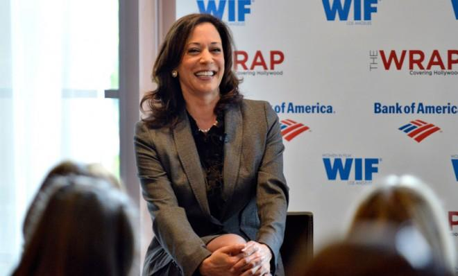 California Attorney General Kamala Harris would prefer if you left her looks out of it.