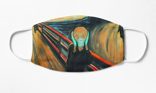safe scream mask redbubble