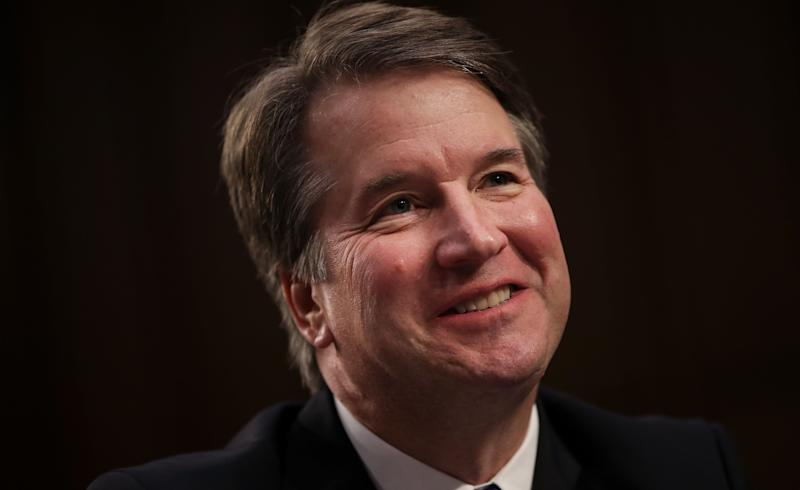 Brett Kavanaugh began carefully recrafting his official court bio two years ago. (Photo: Drew Angerer via Getty Images)