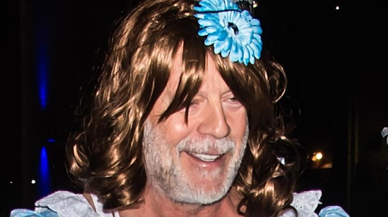 Bruce Willis' Halloween Costume Is What Nightmares Are Made Of