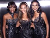 <p>How amazing do they look in these black leather outfits at the 2000 MTV Music Video Awards?</p>