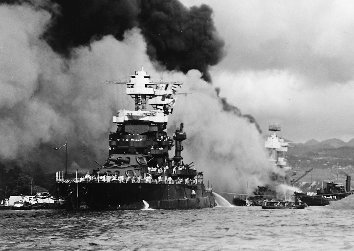How One Old Battleship Survived Pearl Harbor and Wreaked Havoc on
