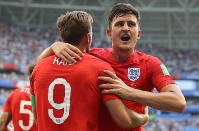 Harry Maguire played a key part in England's World Cup semi-final run in 2018