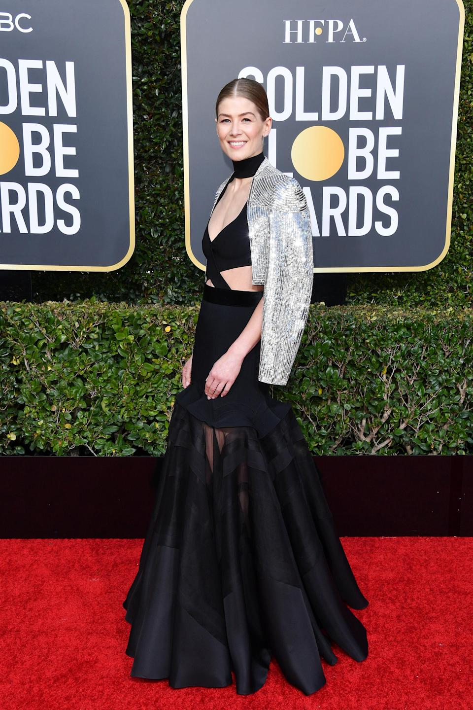 <p>Wearing Givenchy haute couture. <em>[Photo: Getty]</em> </p>