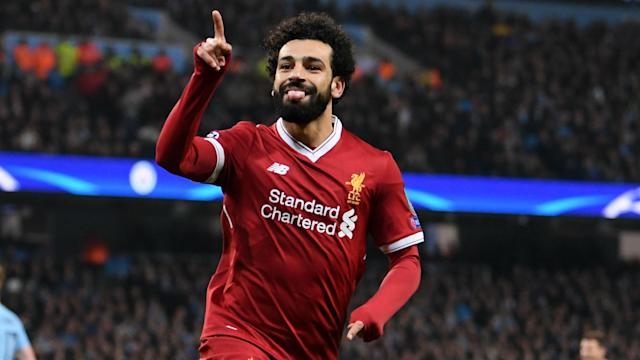The 37-year-old has backed the Egypt international to continue his blistering form when the Reds clash with the Giallorossi